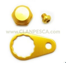 KIT FISSAGGIO MANOVELLA ABU HANDLE LOCK NUT SET