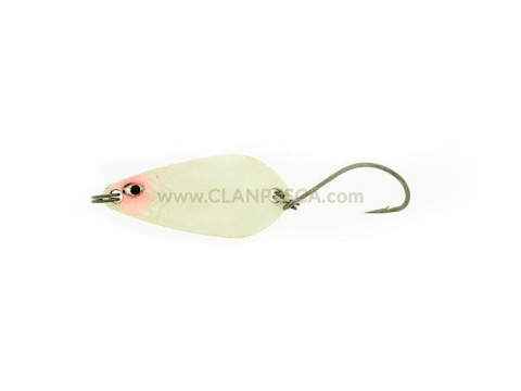 TROUT SPOON 2.5 GR-Pearl White