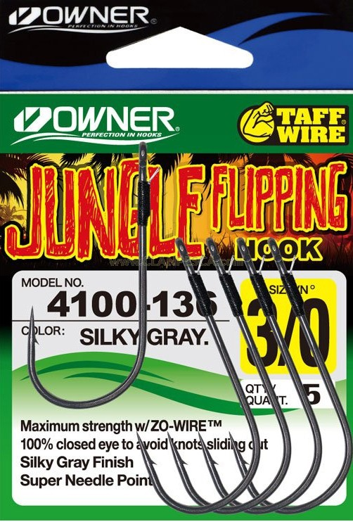 OWNER JUNGLE FLIPPING HOOK 4100
