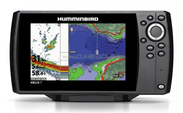 ECOSCANDAGLIO HUMMINBIRD HELIX 7 CHIRP DI SONAR GPS G2N