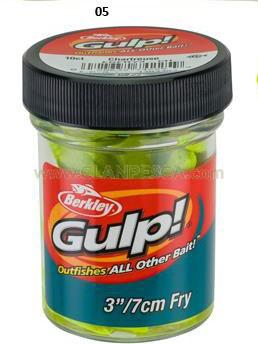 "BERKLEY GULP FRY 3"""