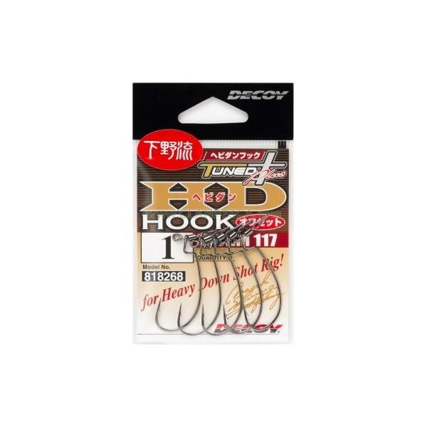 DECOY WORM 117 HEVIDIAN HOOK