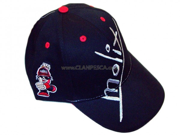 OFFICIAL HAT 1 BLACK AND RED