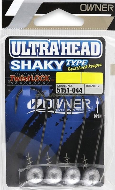 OWNER JIG HEAD 5151 SHAKY TYPE TWIST LOOCK