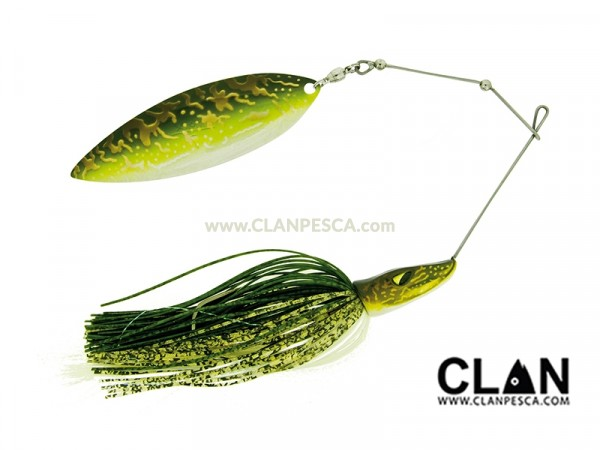 MOLIX PIKE SPINNERBAIT 1 OZ SINGLE WILLOW