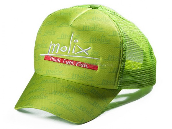 MOLIX SPORT HAT COL LIME GREEN