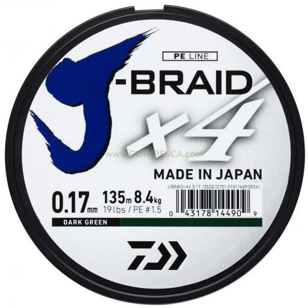 TRECCIA DAIWA  J-BRAID X4